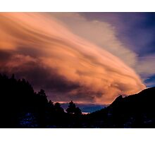 Flight of The Sunset Clouds Photographic Print