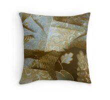 Vintaged Cuttings Throw Pillow