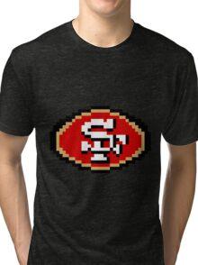 8Bit San Francisco 3nigma Tri-blend T-Shirt