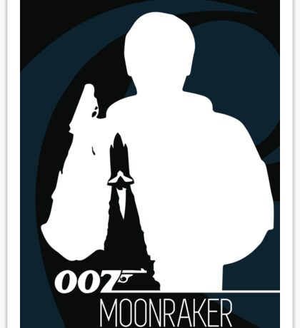 James Bond - Moonraker Sticker