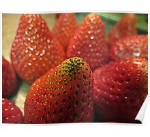 Strawberry Seeds Poster