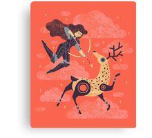 The Huntress Canvas Print