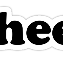 wrestling hashtag face Sticker