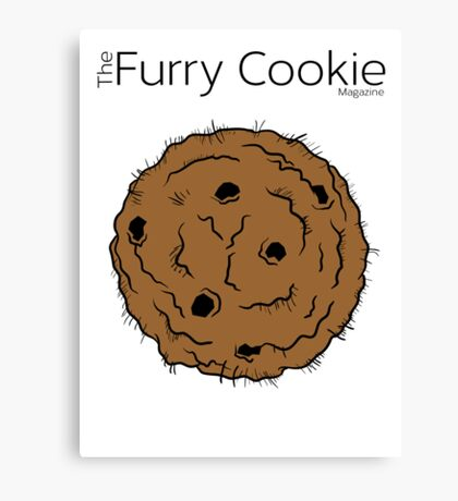 The Furry Cookie's Furry Cookie! Canvas Print