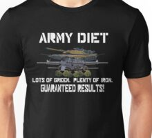 Army Diet Unisex T-Shirt