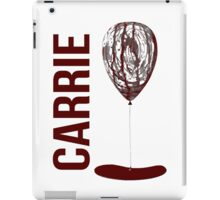 Carrie - pop the baloon iPad Case/Skin