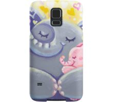 Hug - Rondy the Elphant and his Mom Samsung Galaxy Case/Skin