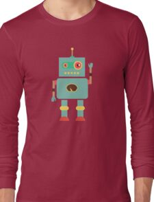 Hello Robo Long Sleeve T-Shirt