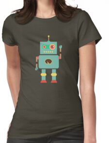 Hello Robo Womens Fitted T-Shirt