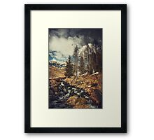 Mountain Creek - Italian Alps Framed Print