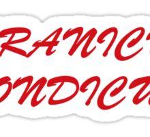 Roranicus Pondicus Sticker