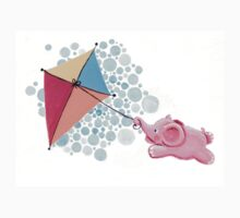 Kite Flying - Rondy the Elephant in the sky Kids Clothes