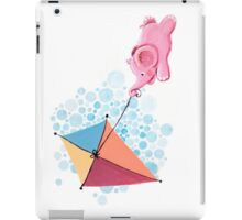 Kite Flying - Rondy the Elephant in the sky iPad Case/Skin