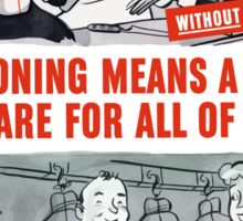 Rationing Means A Fair Share For All Of Us -- WW2 Sticker
