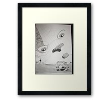 Balloon Festival  Framed Print