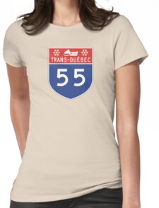 55 Womens Fitted T-Shirt