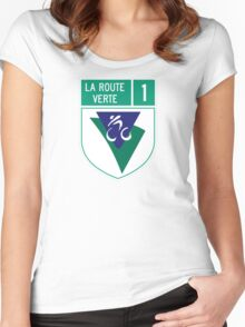 Route verte Women's Fitted Scoop T-Shirt
