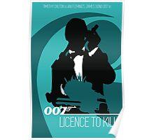 James Bond - Licence to kill Poster