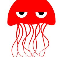 Red Jellyfish by kwg2200