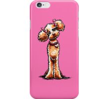 Girly Apricot Poodle iPhone Case/Skin