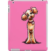 Girly Apricot Poodle iPad Case/Skin