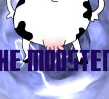The Moo-ster Sticker