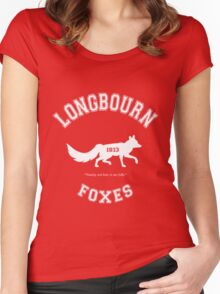 Longbourn Foxes - Pride and Prejudice - Team Bennet Women's Fitted Scoop T-Shirt