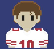8Bit Eli Manning 3Enigma NFL Tee by CrissChords