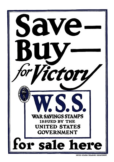Save, Buy, for Victory by warishellstore