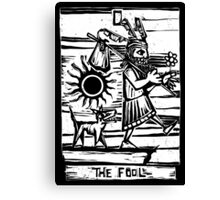 The Fool - Tarot Cards - Major Arcana Canvas Print