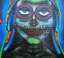 Our Lady Of Guadalupe Mural  by Gina Dazzo