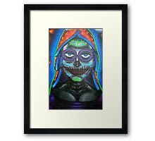 Our Lady Of Guadalupe Mural  Framed Print