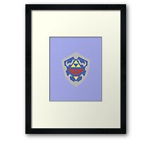 Hylian Shield (Zelda) Framed Print