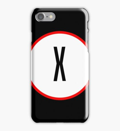 X Files X iPhone Case/Skin