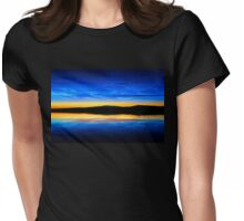 Clouds at Dusk Womens Fitted T-Shirt