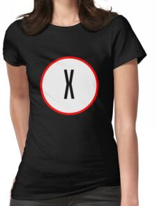 X Files X Womens Fitted T-Shirt