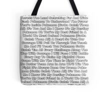 Pokemon Theme Song Tote Bag