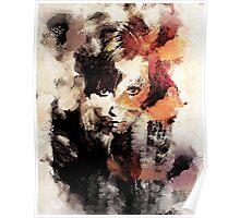 Bandwagon Abstract Portrait Poster