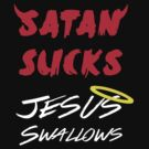 satan sucks jesus swallows by myacideyes