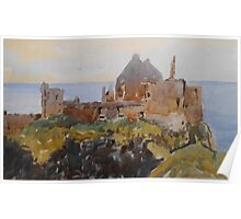 Dunluce Castle, Northern Ireland Poster