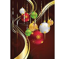 Decorative Christmas Ornaments 3 Photographic Print