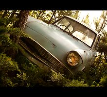 "The ""Flying"" Ford Anglia by Scott Smith"