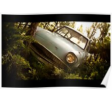 "The ""Flying"" Ford Anglia Poster"