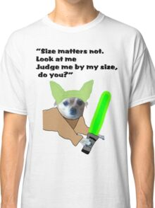 Chihuahua Yoda Classic T-Shirt