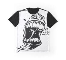 baseball Art Design Monster Graphic T-Shirt