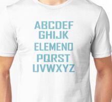 ABC ELEMENO Funny Geek Nerd Book School Teacher Read Spelling Unisex T-Shirt
