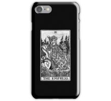 The Empress Tarot Card - Major Arcana - fortune telling - occult iPhone Case/Skin