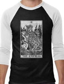 The Empress Tarot Card - Major Arcana - fortune telling - occult Men's Baseball ¾ T-Shirt
