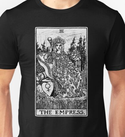 The Empress Tarot Card - Major Arcana - fortune telling - occult Unisex T-Shirt