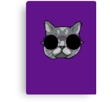 The Sophisticated Cat Canvas Print